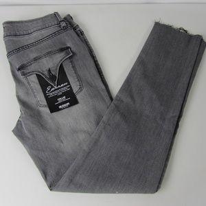 Hudson Sz 28 Collin Skinny Gray Stretch Jeans NWT